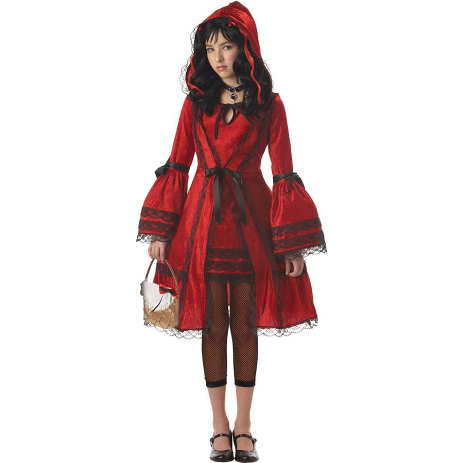 Red Riding Hood Kids Costume XLarge 12-14 - Fairytale Costume Girls Costumes