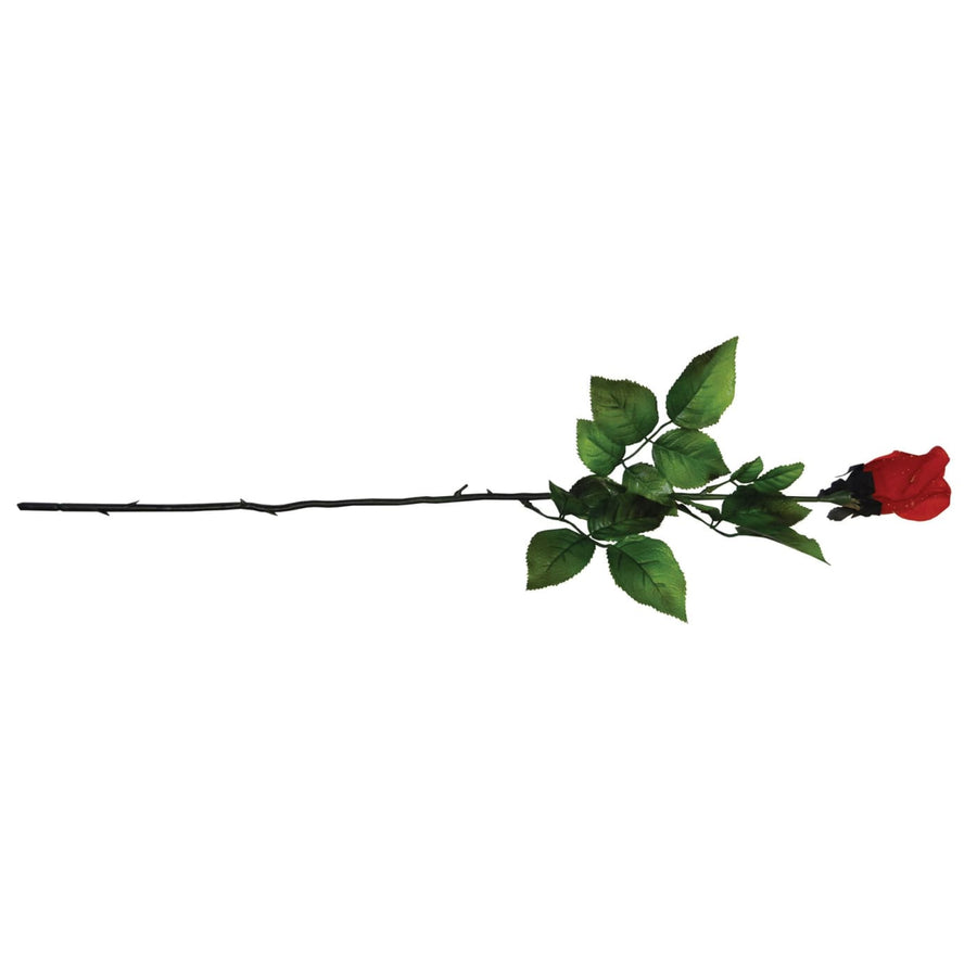 Red Rose Artificial Silk Flower - artificial red rose Decorations & Props Gothic