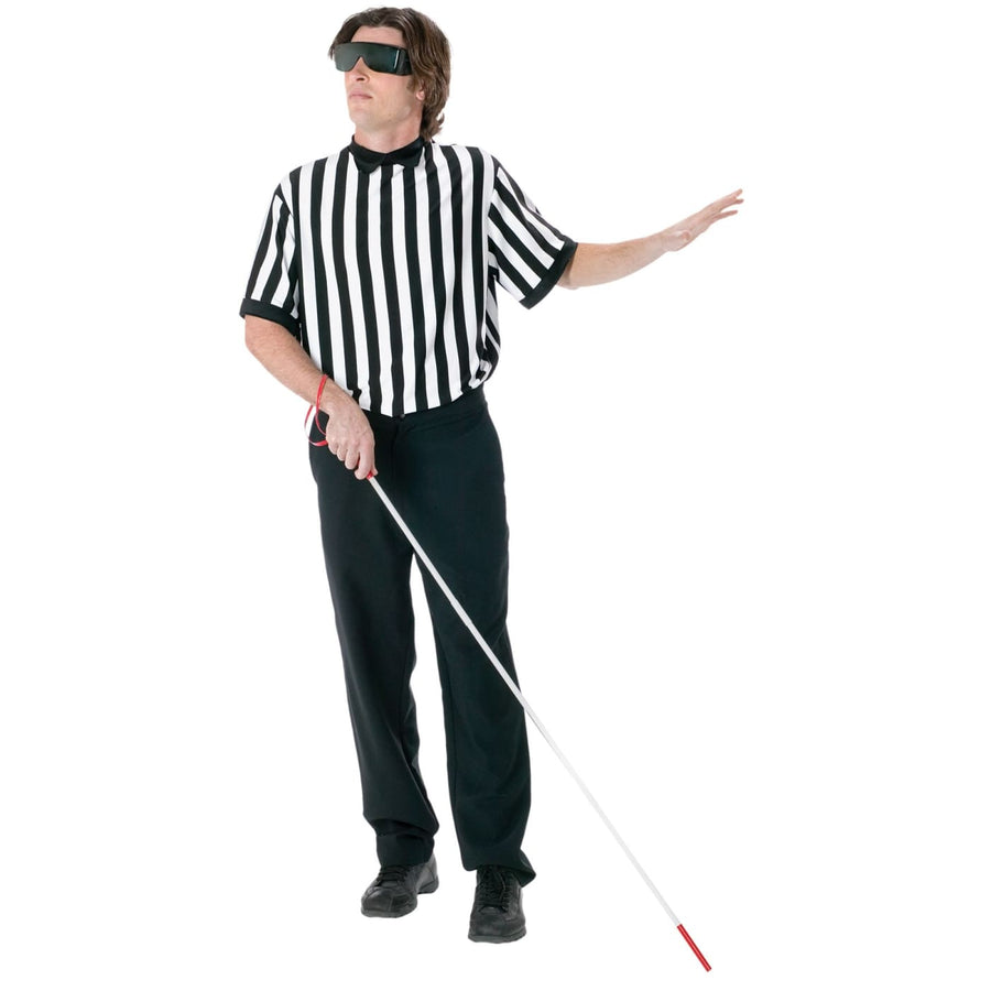 Referee Blind Kit - adult halloween costumes Cheerleader & Sports Costume Funny
