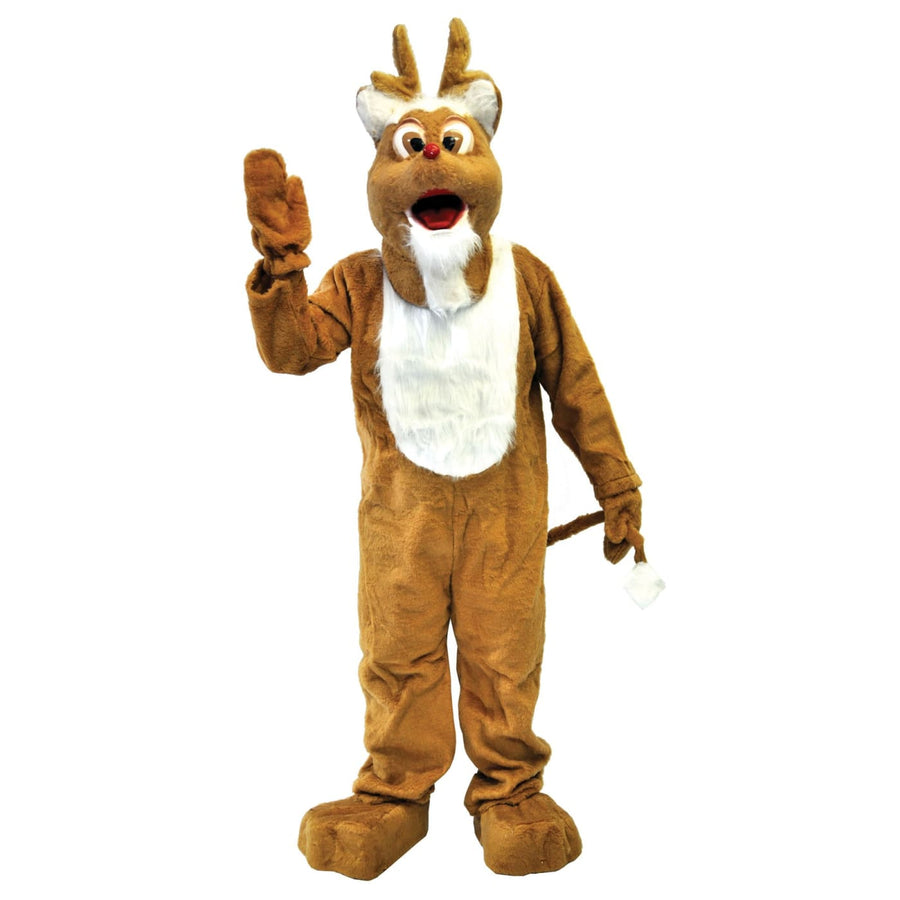 Reindeer Adult Mascot Costume - Halloween costumes Holiday Costumes