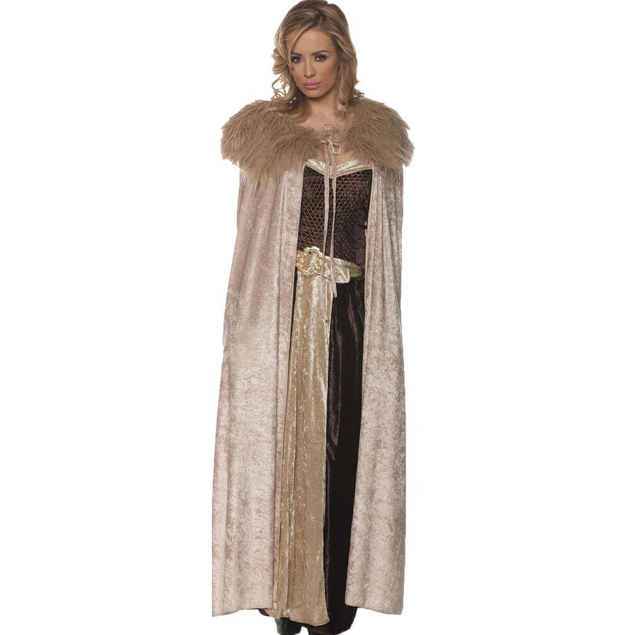 Renaissance Cape Beige Womens Costume - Halloween costumes New Costume