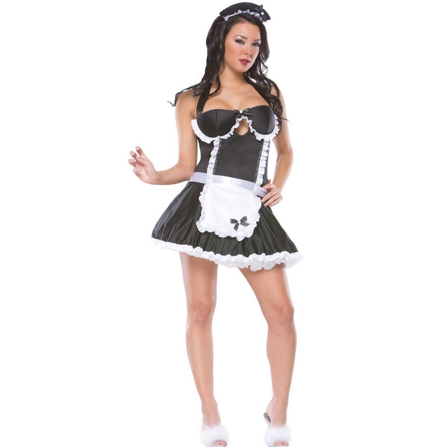 Retro French Maid Md-Lg - adult halloween costumes female Halloween costumes