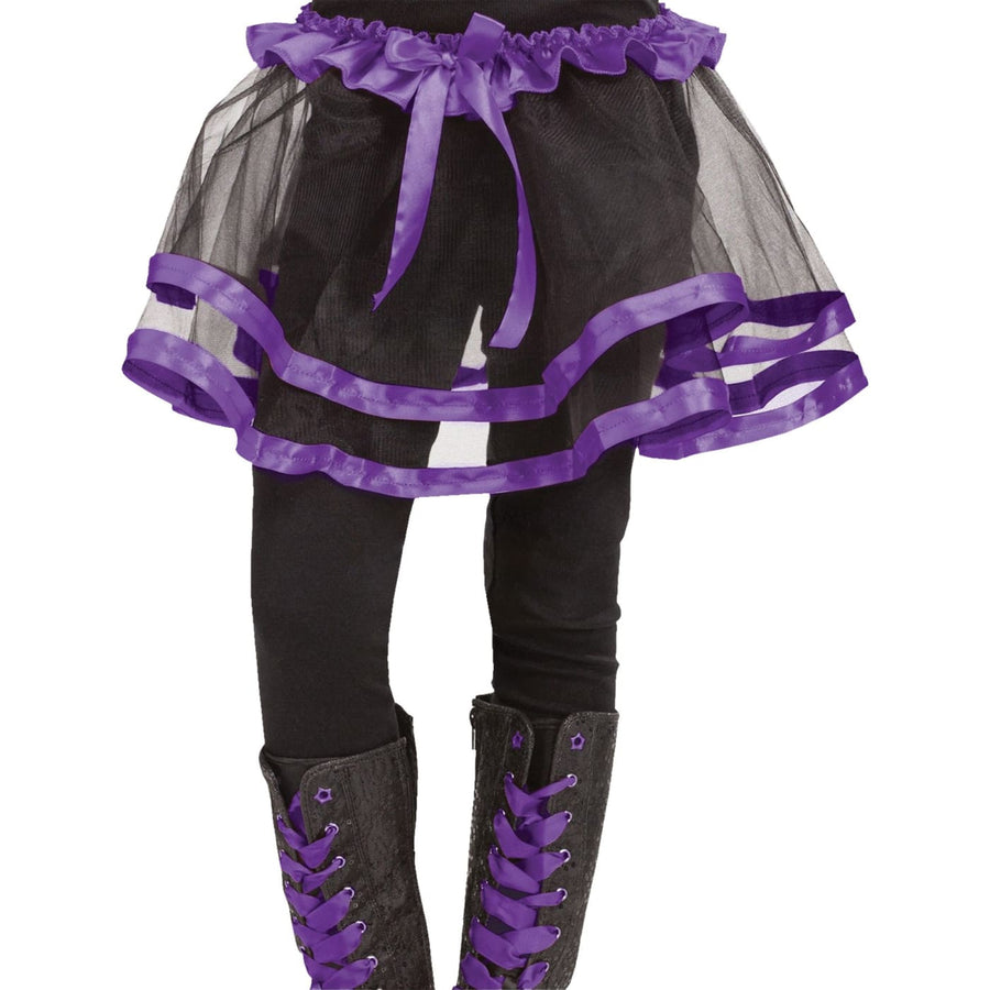 Ribbon Tutu Child Purple - Halloween costumes Tights Socks & Underwear