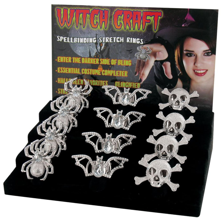 Rings Witch 24 Pack - Halloween costumes New Costume witch costume