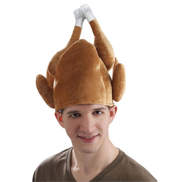 Roasted Turkey Thanksgiving Hat - Halloween costumes New Costume