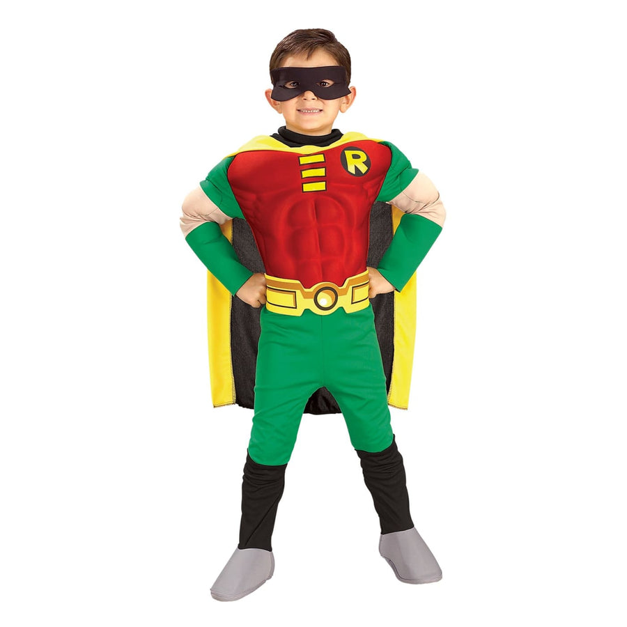 Robin Boys Costume Deluxe Md - Boys Costumes boys Halloween costume DC Comics
