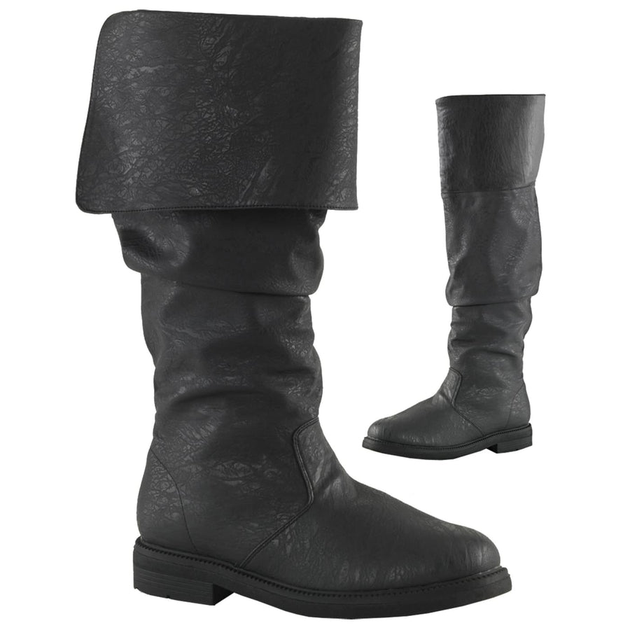 Robin Hood Boots 100 Black Md - Halloween costumes