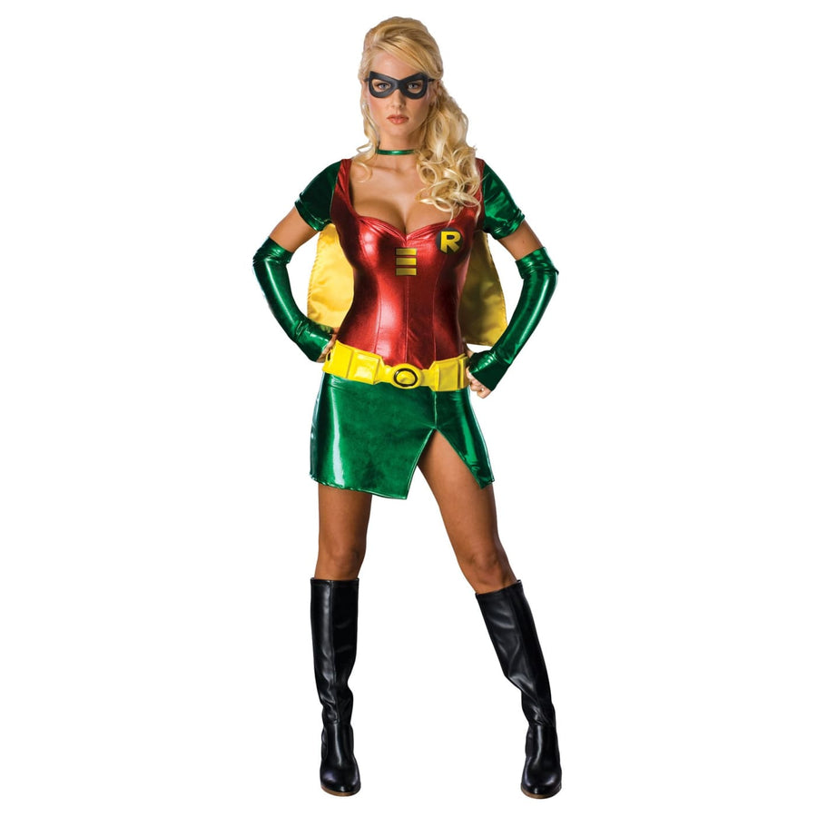Robin Sexy Xs - adult halloween costumes DC Comics Costume female Halloween