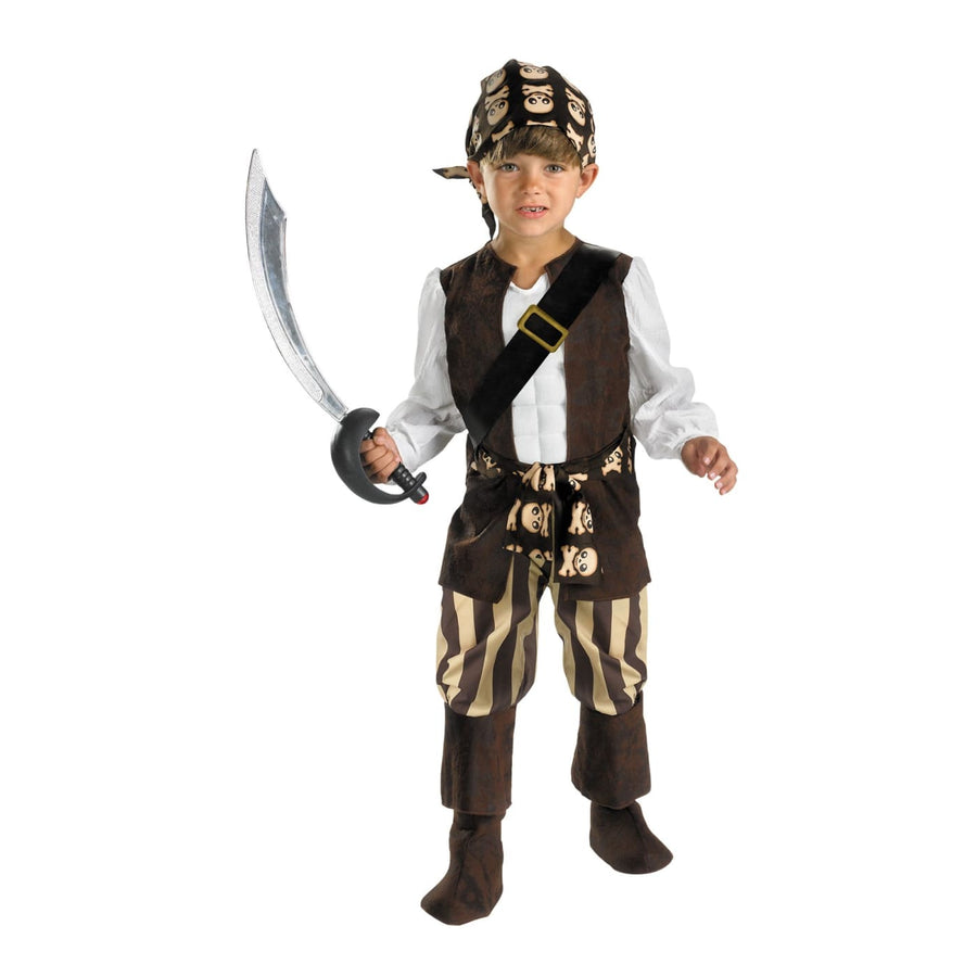 Rogue Pirate Toddler Costume 2T - Halloween costumes Pirate Costume Toddler