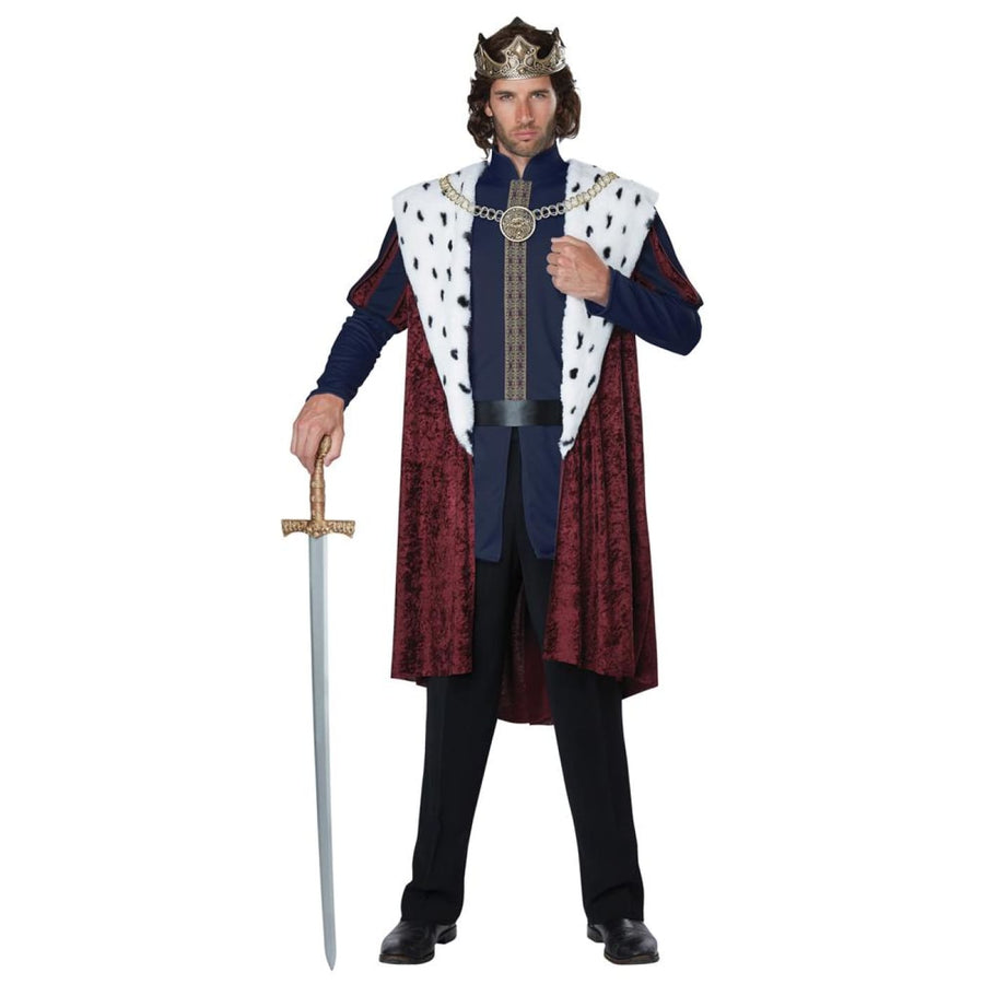 Royal Storybook King Adult Costume Large - adult halloween costumes halloween