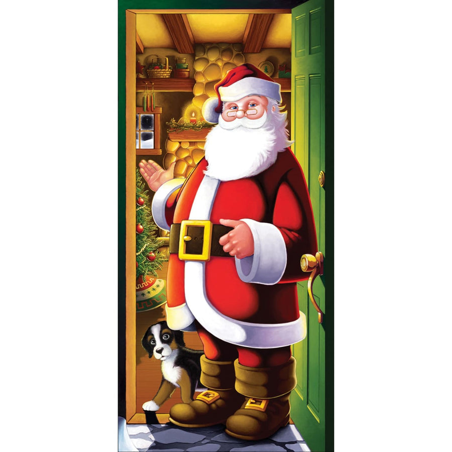 Santa Door Cover - Decorations & Props Halloween costumes haunted house