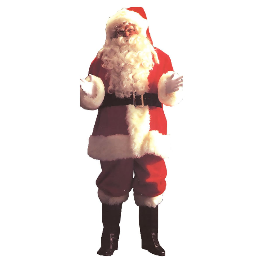 Santa Suit Deluxe Xl - adult halloween costumes halloween costumes Holiday