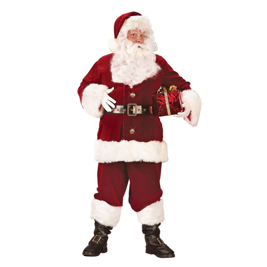 Santa Suit Super Deluxe Adult Costume - adult halloween costumes halloween