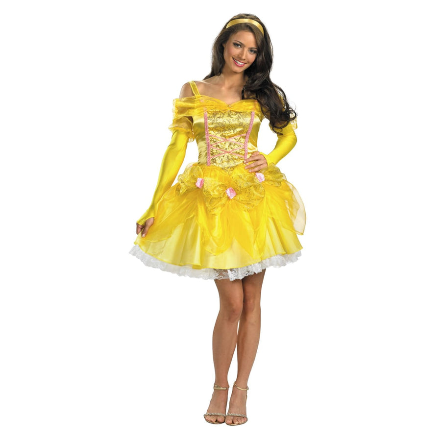 Sassy Belle 8-10 - adult halloween costumes Disney Costume female Halloween