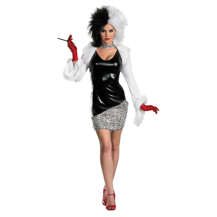Sassy Cruella 4-6 - adult halloween costumes Disney Costume female Halloween