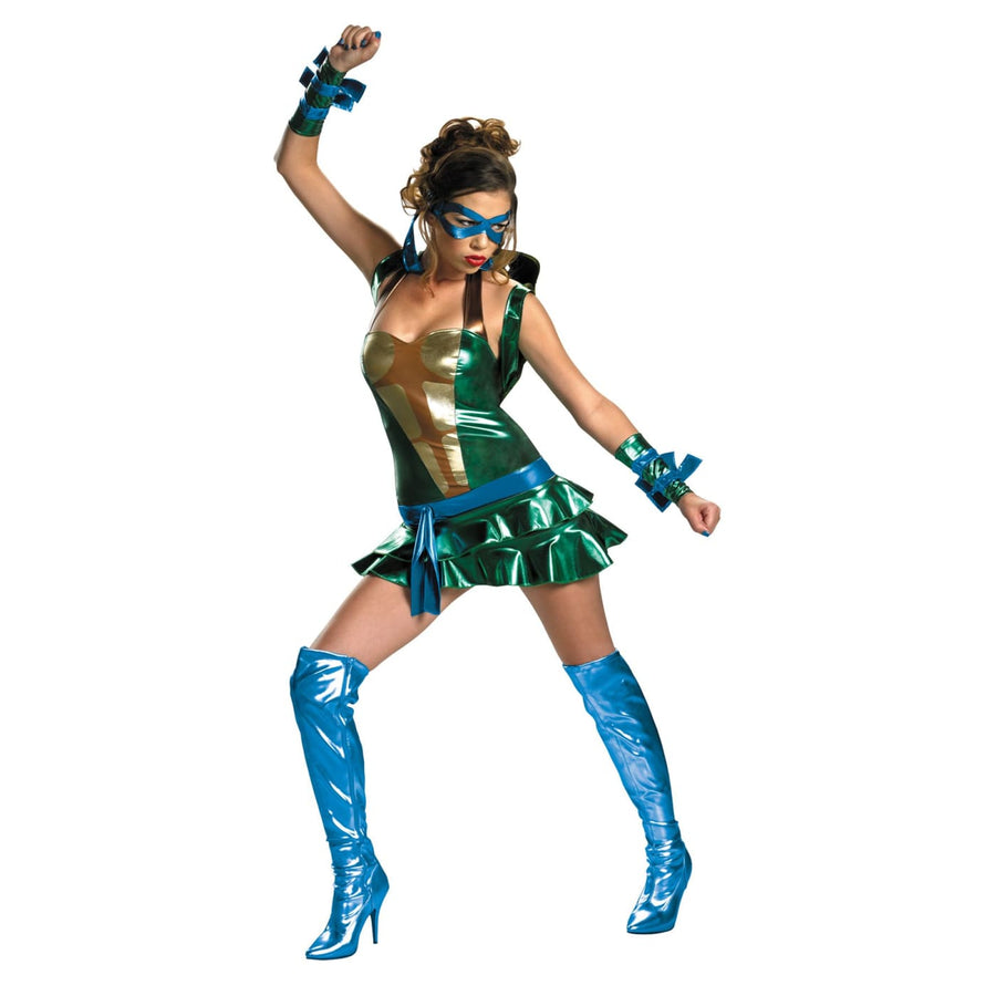 Sassy Leonardo Tmnt 4-6 - adult halloween costumes female Halloween costumes