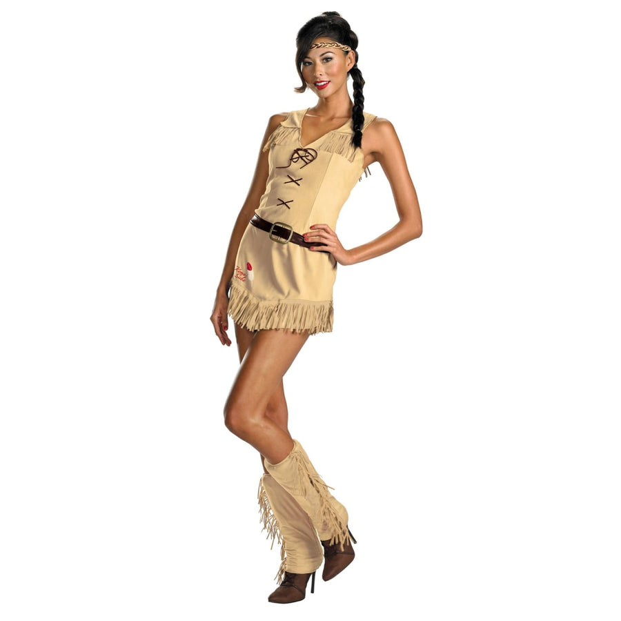 Sassy Tonto Adult 4-6 - adult halloween costumes female Halloween costumes
