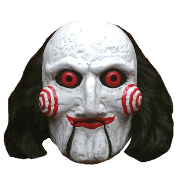 Saw -Billy Puppet Costume Mask - Costume Masks Halloween costumes Halloween Mask
