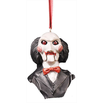Saw-Billy Puppet Ornament - New Costume