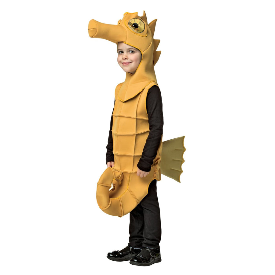 Seahorse Boys Costume Medium 7-10 - Boys Costumes Halloween costumes