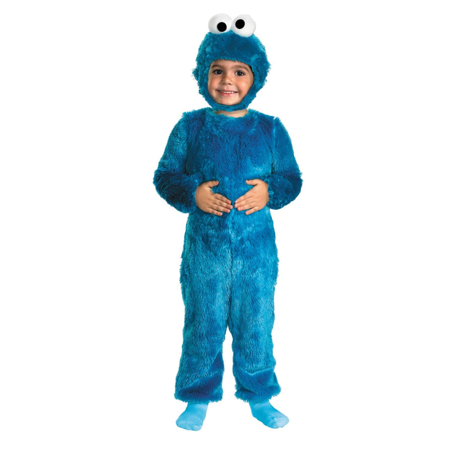 Sesame St Cookie Monster Kids Costume 4-6 - Animal & Insect Costume Halloween