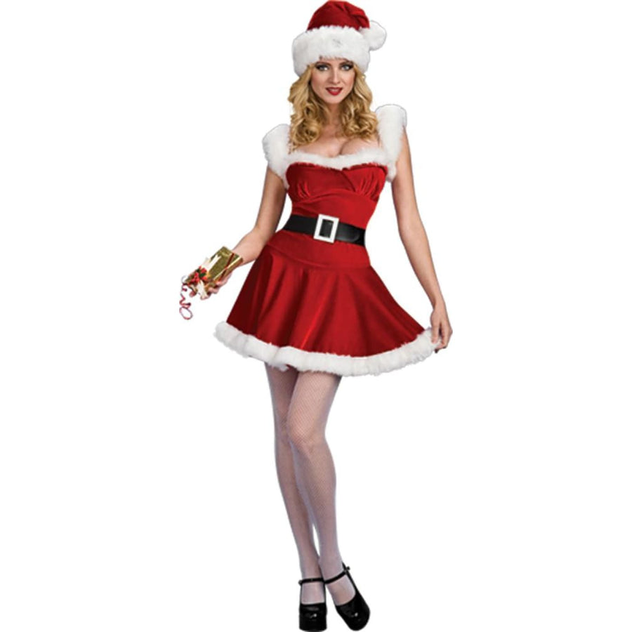 Sexy Jingle Adult Costume Small - adult halloween costumes female Halloween