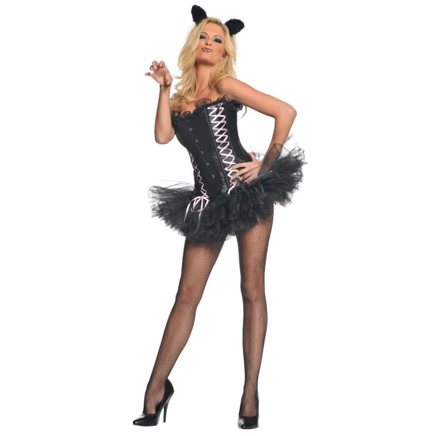 Sexy Kitty Sm - adult halloween costumes Animal & Insect Costume female