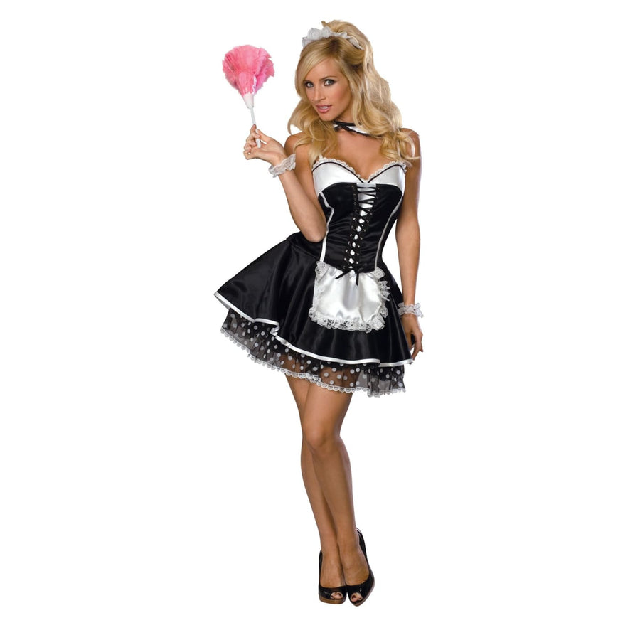 Sexy Maid Adult Md - adult halloween costumes female Halloween costumes French