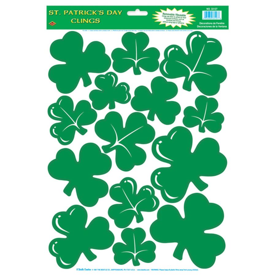 Shamrock Clings - Decorations & Props Halloween costumes haunted house
