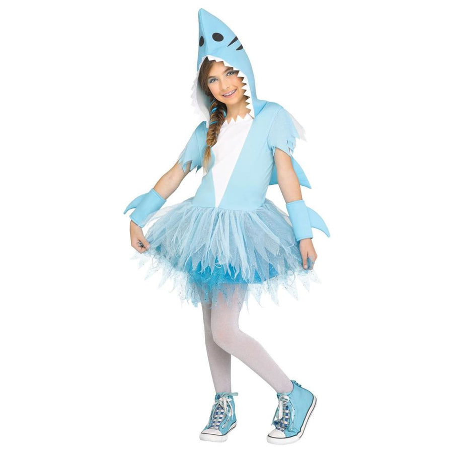 Shark Girls Costume Md - Girls Costumes Halloween costumes New Costume Shark