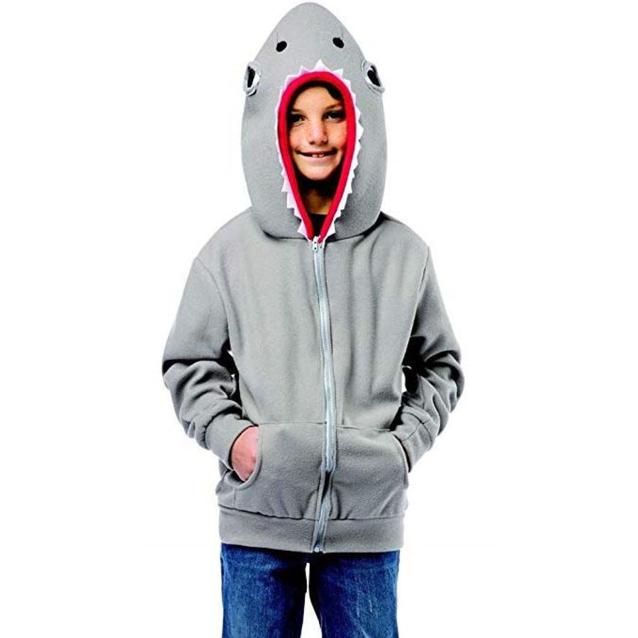 Shark Kids Costume Hoodie 7-10 - Boys Costumes Girls Costumes Halloween costumes