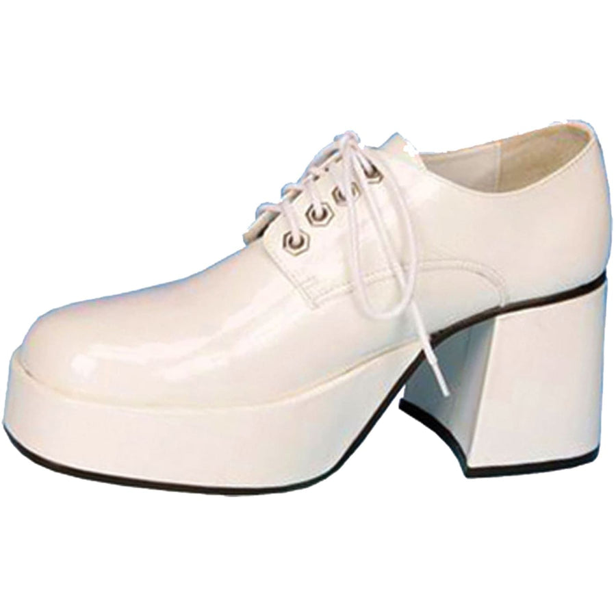 Shoe Platform White Pat Men Md - 60s - 70s Costume Halloween costumes Shoes &