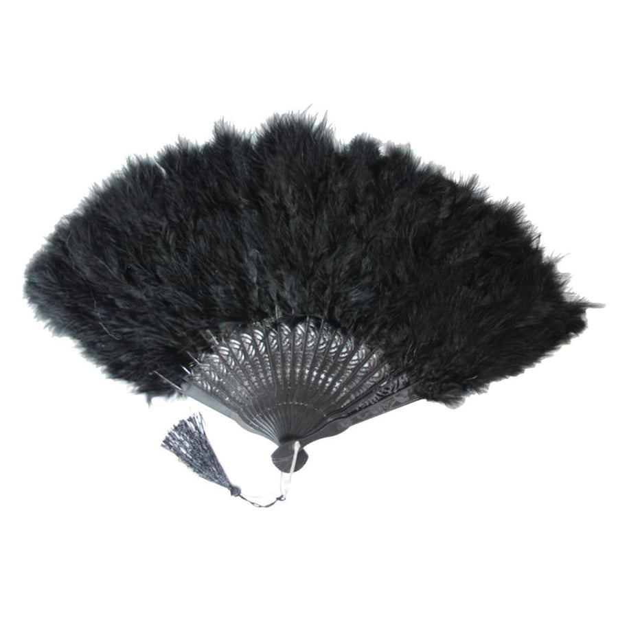 Showgirl Fan With Tassel - New Costume