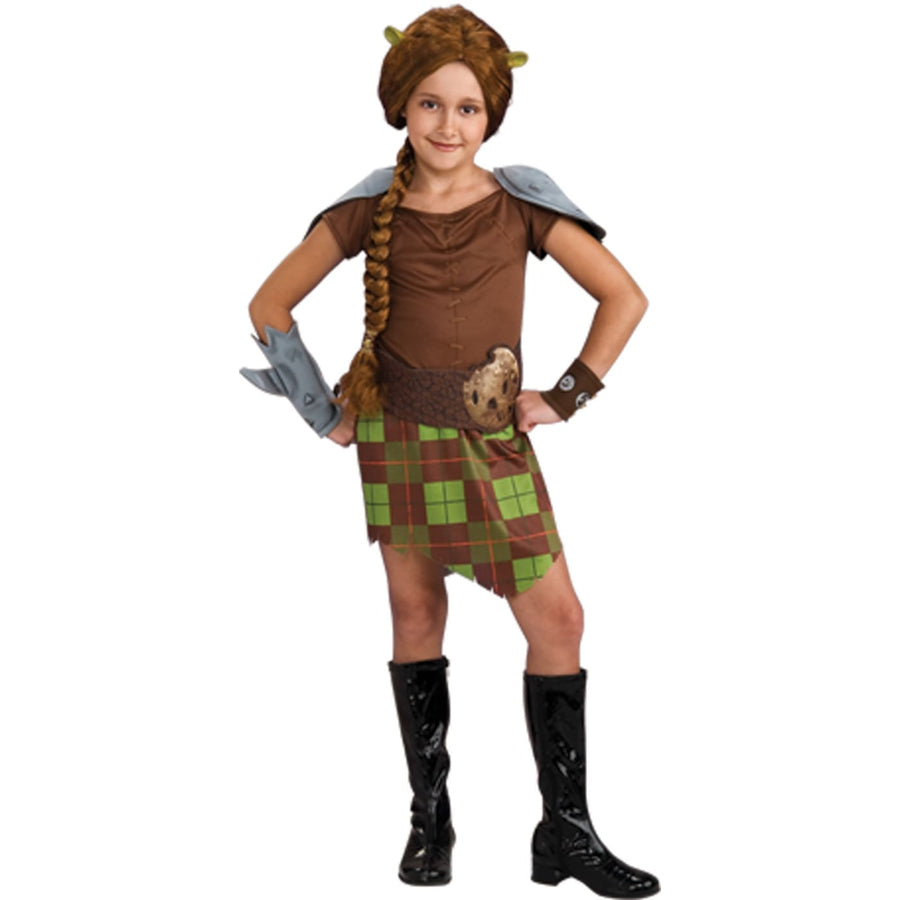 Shrek 4 Fiona Warrior Child Sm - Girls Costumes girls Halloween costume
