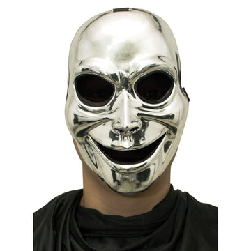 Sinister Ghost Silver Mask - Costume Masks Halloween costumes Halloween Mask