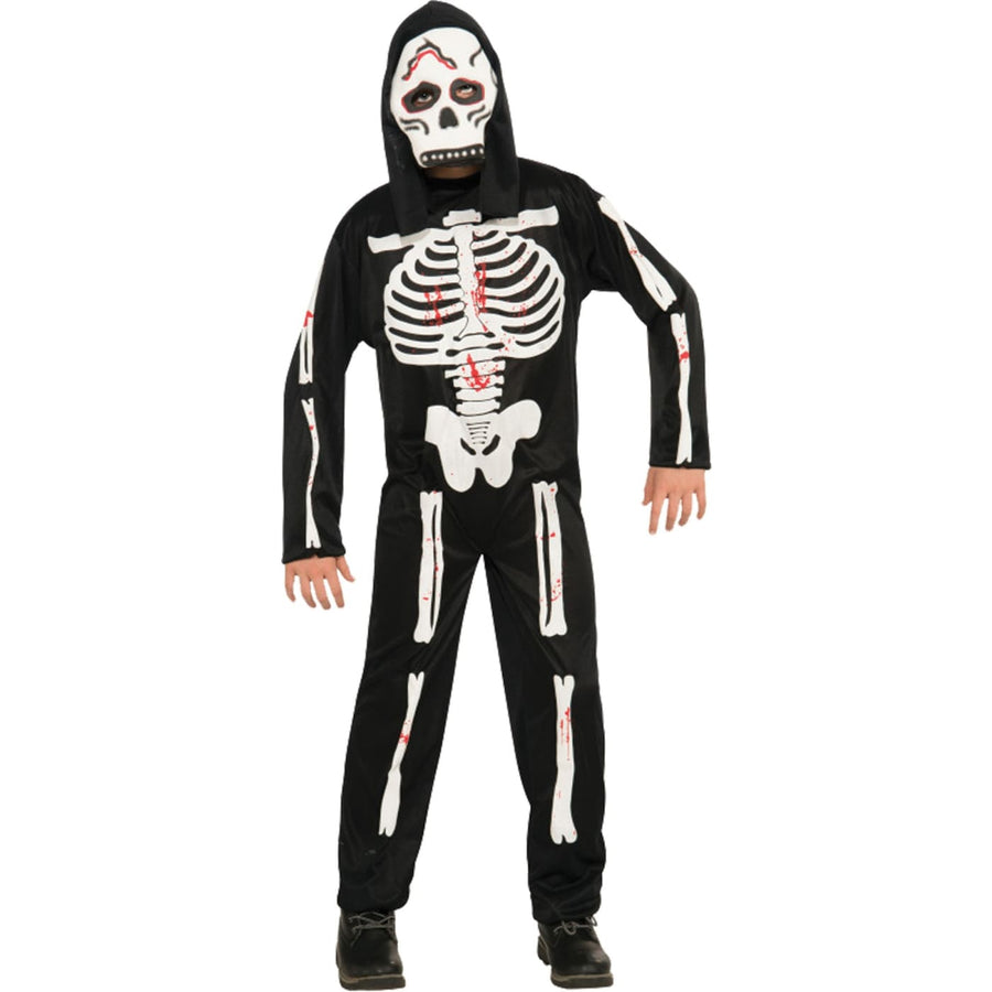 Skeleton Boys Costume Md - Boys Costumes boys Halloween costume Ghoul Skeleton &