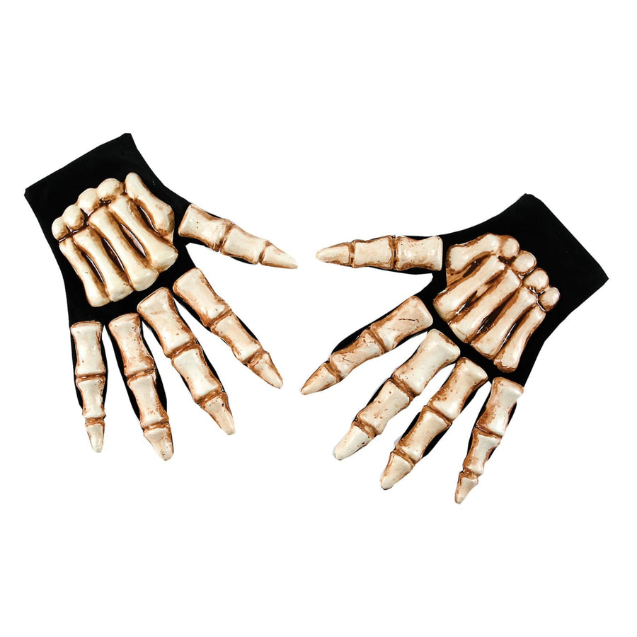 Skeleton Hands - Ghoul Skeleton & Zombie Costume Halloween costumes Hands Feet &