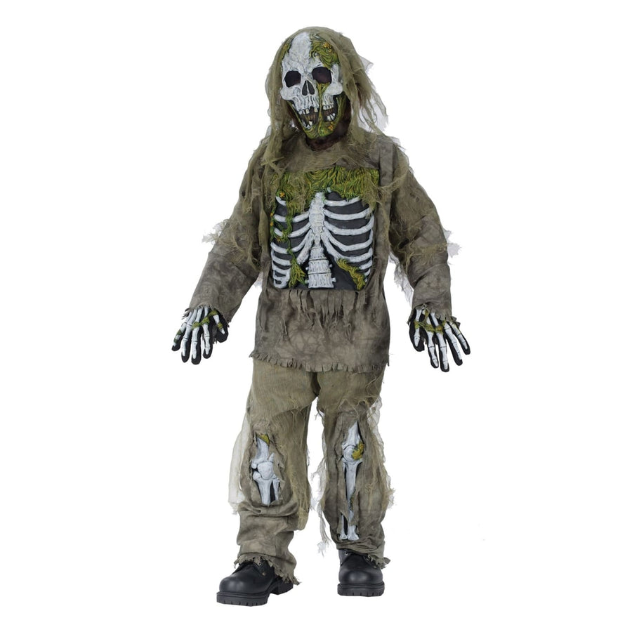 Skeleton Zombie Boys Costume Lg - Boys Costumes boys Halloween costume Ghoul