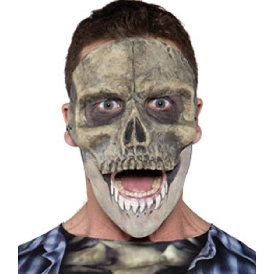 Skull Latex Mask - Costume Masks Ghoul Skeleton & Zombie Costume Halloween
