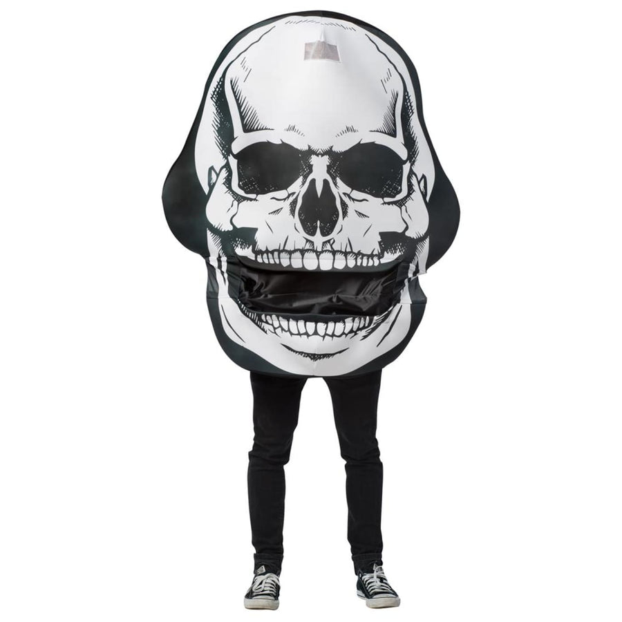 Skull Mouth Head Adult Costume - adult halloween costumes halloween costumes