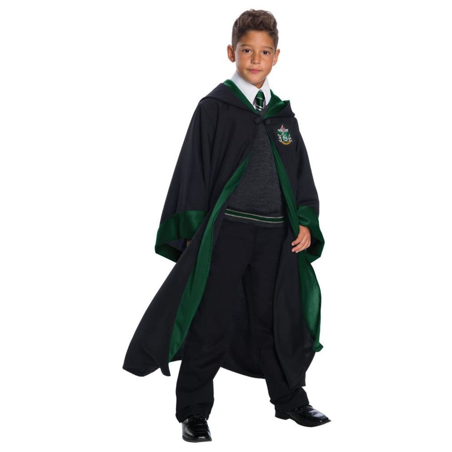 Slytherin Set Deluxe Kids Costume Lg - Boys Costumes Girls Costumes Halloween
