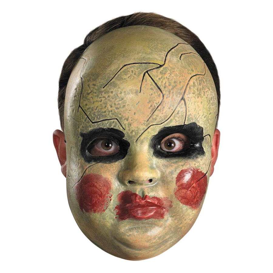 Smeary Doll Face Mask - Costume Masks Halloween Mask rubber Mask scary mask