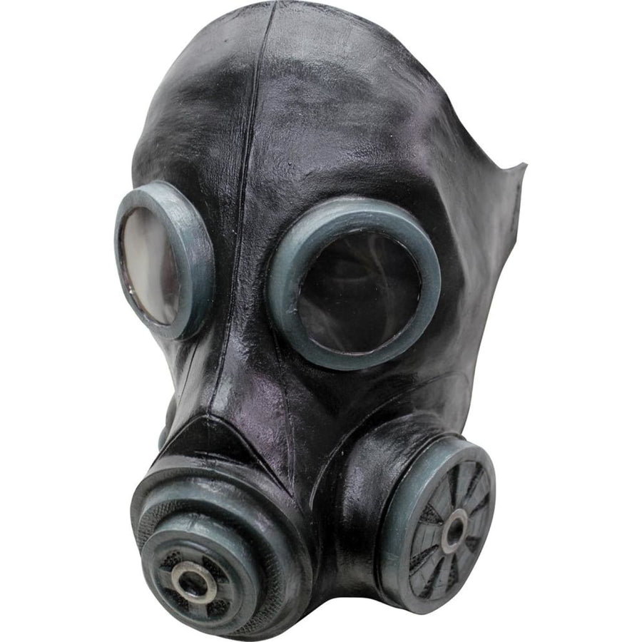 Smoke Black Latex Costume Mask - Costume Masks Halloween Mask rubber Mask scary