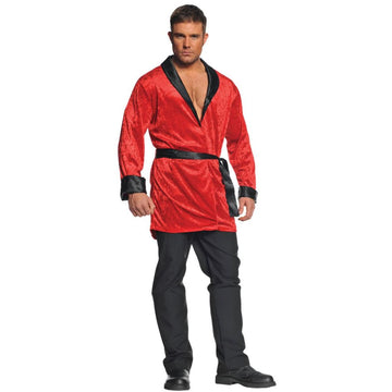 Smoking Jacket Adult Costume - Halloween costumes Mens Costumes Mens Lingerie
