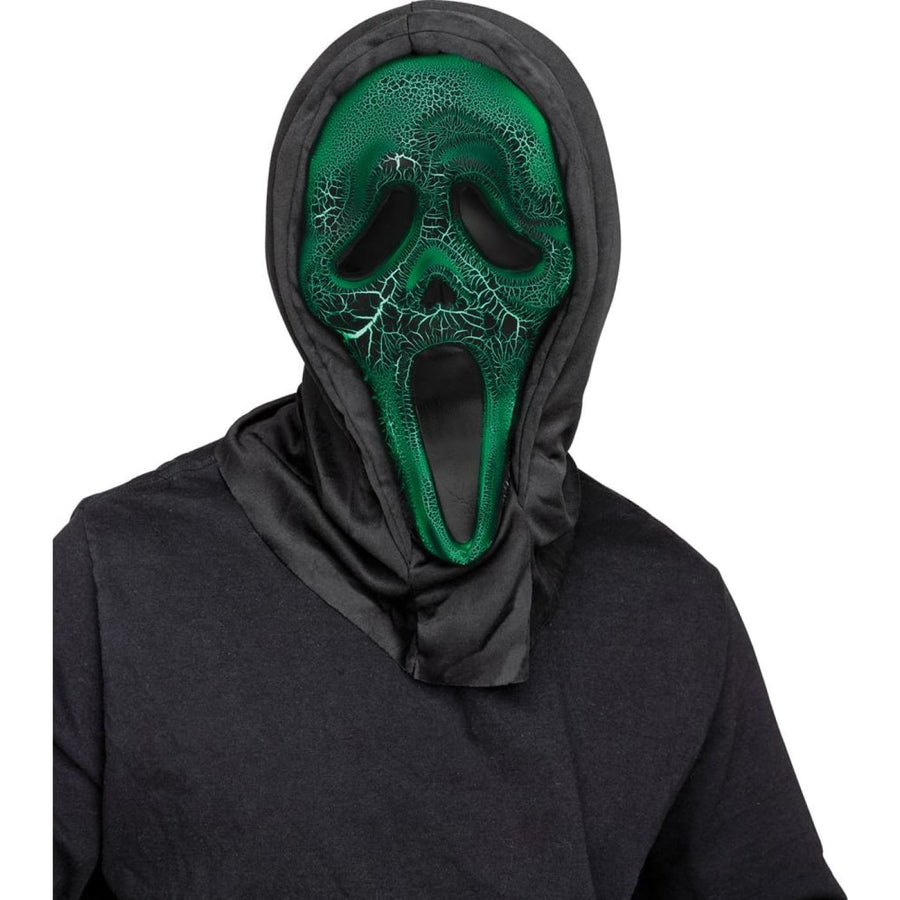 Smoldering Ghost Face Adult Costume Mask - Costume Masks Ghoul Skeleton & Zombie