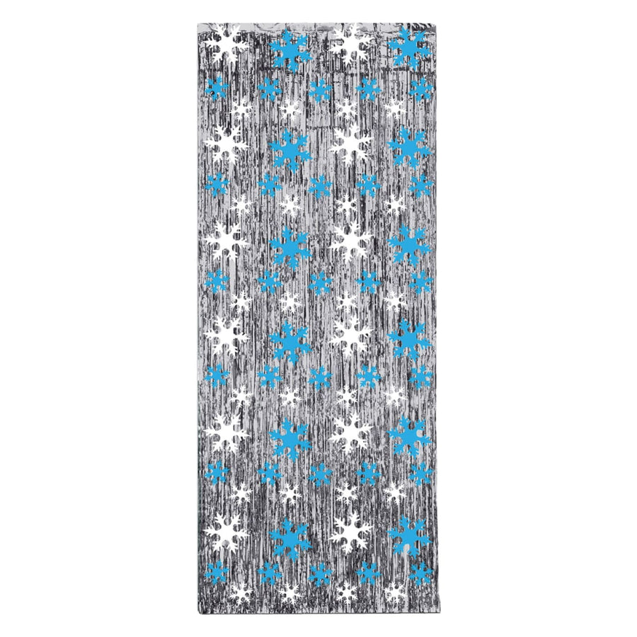 Snowflake Gleam N Curtain - Decorations & Props Halloween costumes haunted house