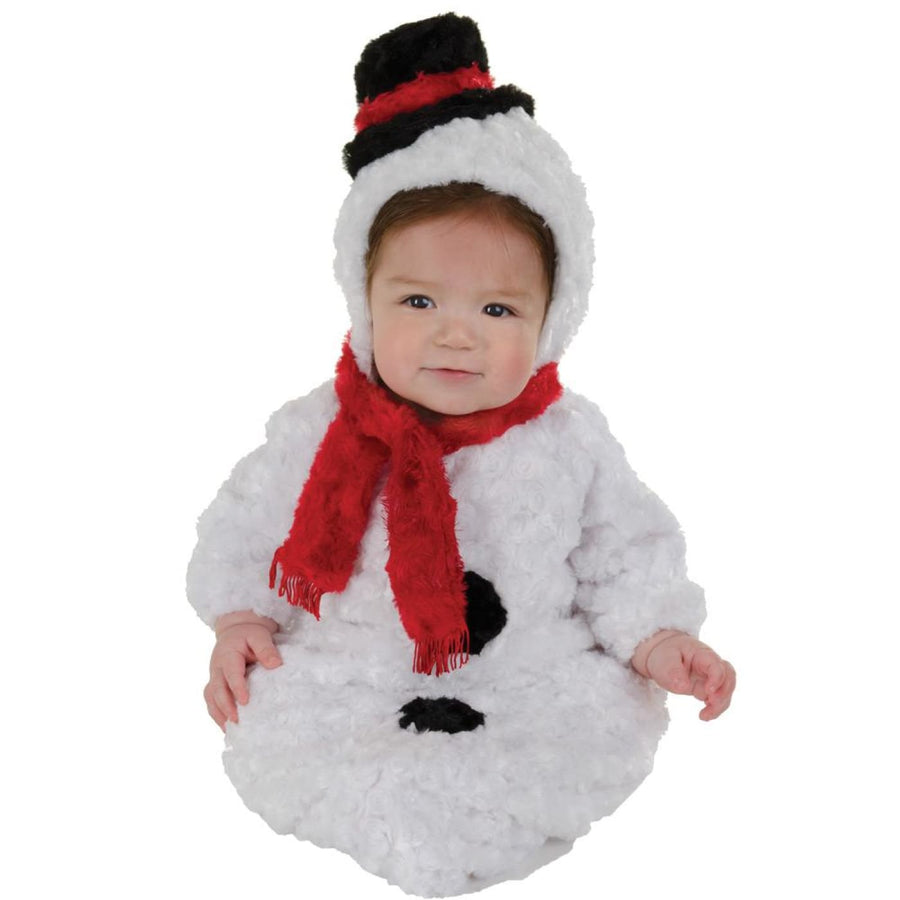 Snowman Baby Bunting 0-6 Months - Halloween costumes New Costume