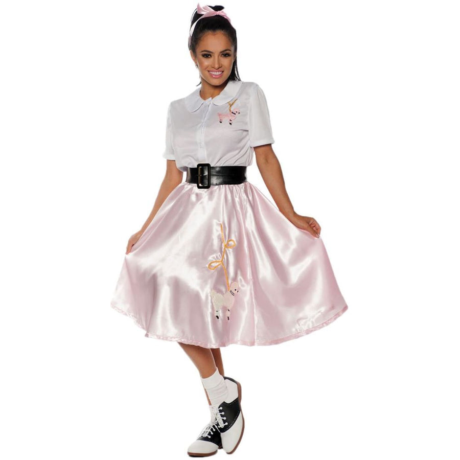 Sock Hop Womens Costume Lg - Halloween costumes New Costume Sock Hop Womens