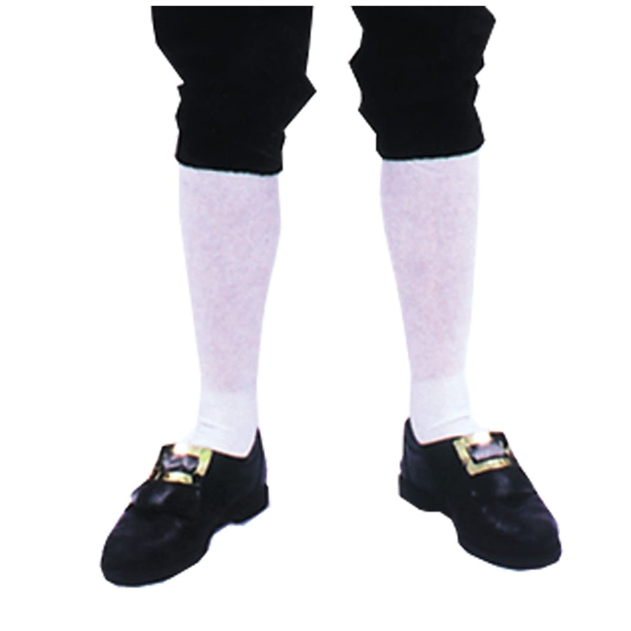 Socks Colonial Mens Pair - Halloween costumes Historical Costume Tights Socks &