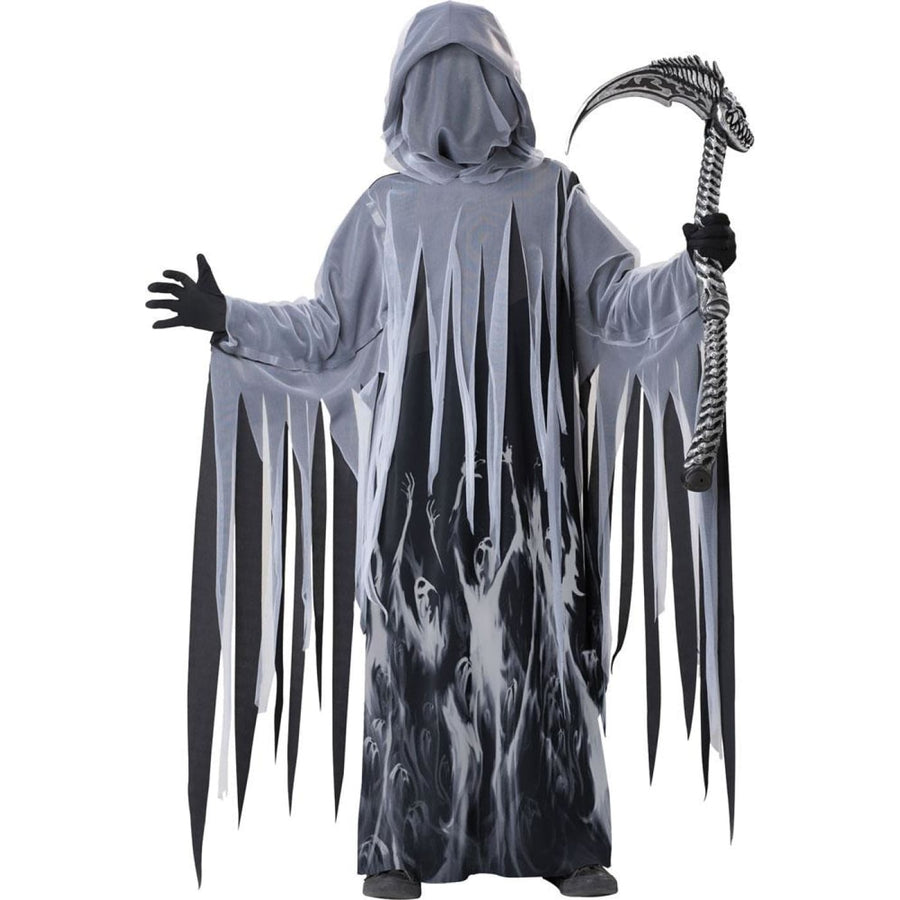 Soul Taker Boys Costume Large 10-12 - Boys Costumes boys Halloween costume Ghoul